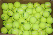 Used Tennis Balls (standard hard court - box of 250)